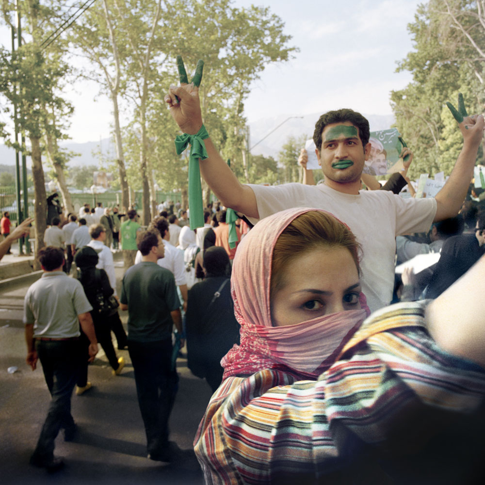 Green Revolution Iran 1