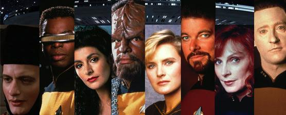 Cast of Star Trek Next Generation at Montreal Comiccon