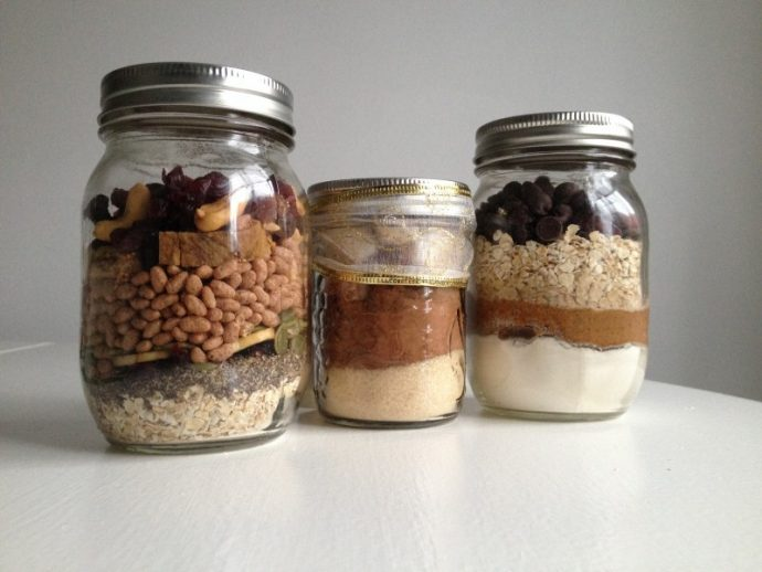 DIY Chocolate Cereal healthy Glass Jars Pinterest