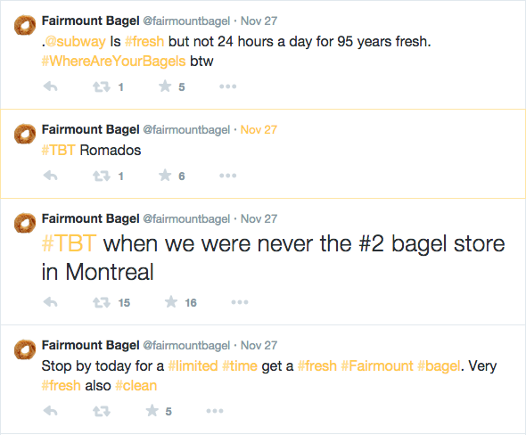 Fairmount Bagel Montreal Mile End Baked