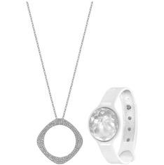 Tech Swarovski Bling Silver Jewelry Fashion
