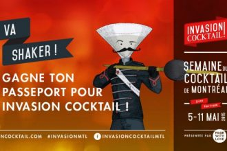 Invasion cocktail passports Montreal Festival Food&Drink