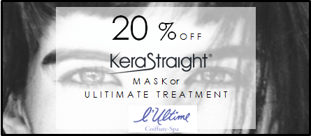 Everyone loves a deal. Show this coupon on your smartphone and get 20% off your first treatment!