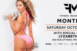 New City Gas Nightlife FMF EVENTS MTL Pink bikini fitness model girl Lyzabeth Lopez