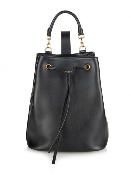 Saint Laurent Black Backpack
