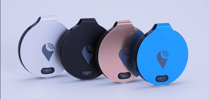 Trackr Tech item tracker Wearable Gift Ideas
