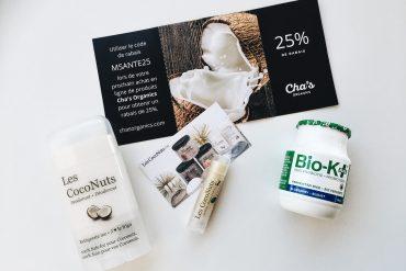 Expo Manger Santé et Vivre Vert Coconut Organic Deodorant White Bio-K Vegan Probiotics Healthy Expo