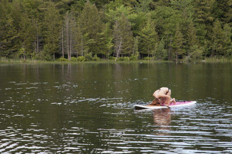 SUP Yoga Paddle Board Spa Balnea Girl Swimsuit