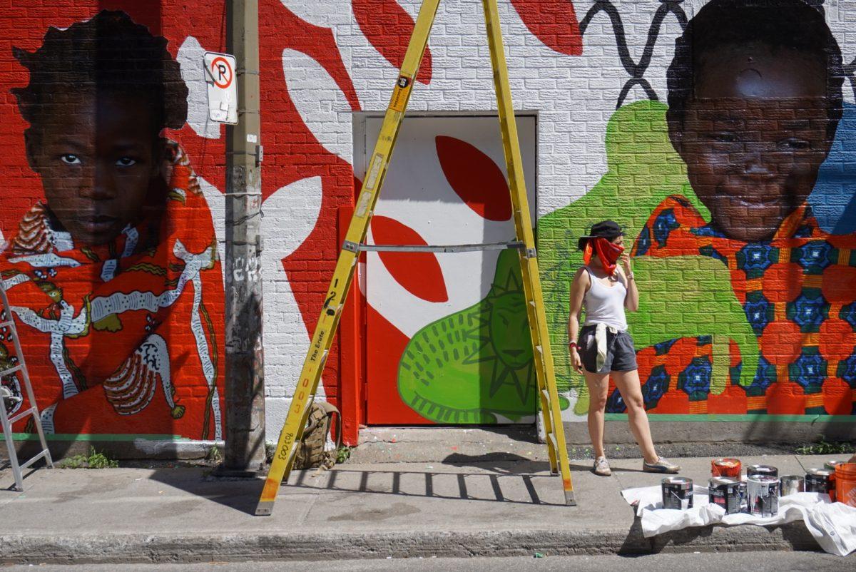 Missme aydin matlabi create urban art for humanity for Mural festival